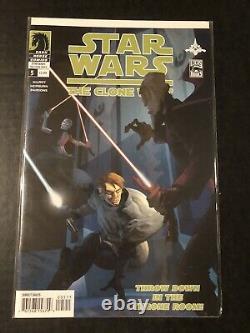 Star Wars Clone Wars 1-12 Comic Lot 1st App Ahsoka Tano Newsstand 3 Dark Horse
