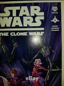 Star Wars Clone Wars #1 1st Ahsoka Tano 1000 copy Variant