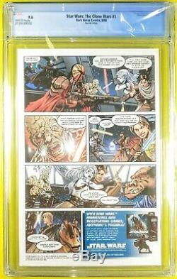 Star Wars Clone Wars #1 CGC 9.6 DH100 Variant only 1000 copies made Dark Horse