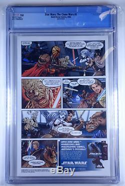 Star Wars Clone Wars #1 CGC 9.8 DH100 Variant Dark Horse Comics 1000 copies