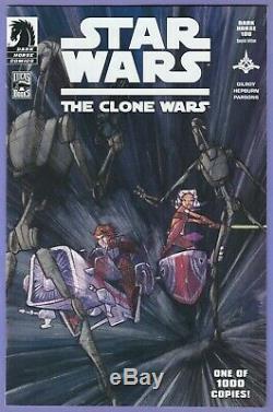 Star Wars Clone Wars 1 Dark Horse 100 Special Edition 1st appearance Ahsoka Tano