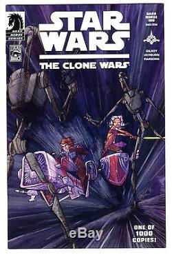 Star Wars Clone Wars #1 Dark Horse 100 Variant 1st Ahsoka Tano Appearance Vf+