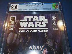 Star Wars Clone Wars #1 Dark Horse 100 rare variant 1st Ahsoka Tano CGC 9.8 Hot
