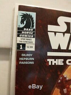 Star Wars Clone Wars 1 Dark Horse Comics 1st App Ahsoka Tano