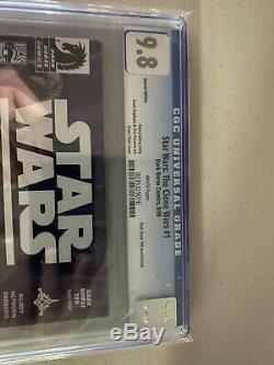 Star Wars Clone Wars #1 first AHSOKA Tano CGC 9.8 Dark Horse VARIANT