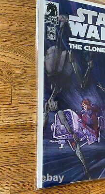 Star Wars Clone Wars #1 variant 1 of 1000 1st app. Ahsoka Tano