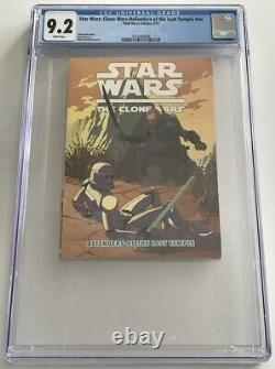 Star Wars Clone Wars Defenders of the Lost Temple CGC 9.2 1st Bo-Katan Darksaber