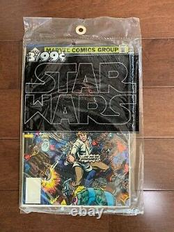Star Wars Comic Books #1-3 Sealed 3-Pack Whitman 35 Cent Reprint