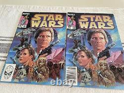 Star Wars Comic Lot With Boba Fett Issues 42 & 81 (2 Copies)