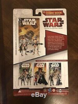 Star Wars Comic Pack #10 CLONE LIEUTENANT & CLONE TROOPER Routine Valor Figures