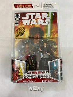 Star Wars Comic Pack 11 Exar Kun Ulic Qel-Droma Rare Htf Moc Amazing Legacy Vc