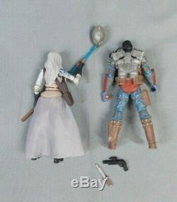 Star Wars Comic Pack 15 Jarael & Rohlan Dyre Loose Action Figure Set 2009 Hasbro