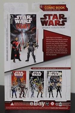 Star Wars Comic Pack DARTH KRAYT and SIGEL DARE in package
