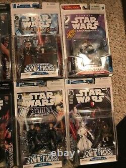 Star Wars Comic Pack Lot 15 Sets. Rise Of Skywalker! Serious Collectors Only