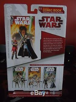 Star Wars Comic Packs #11 Qel-Droma EXAR KUN Action Figure Set NEW sealed MINT
