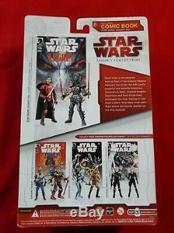 Star Wars Comic Packs Figures Legacy #22 Darth Krayt and Sigel Dare