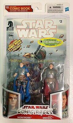 Star Wars Comic Packs Montross & Jaster Mereel (Entertainment Earth Exclusives)