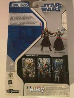 Star Wars Comic Packs Republic #69 Asajj Ventress + Tol Skorr Figures New Misb