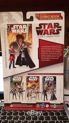 Star Wars Comic Packs Ulic Qel-Droma & EXAR KUN + Darth Krayt & SIGEL DARE RARE