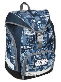 Star Wars Comic Schulrucksack Set 19tlg. Scooli Twixter Schulranzen Schultüte