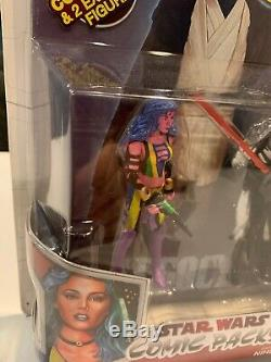 Star Wars Comic Two-Pack Deliah Blue & Darth Nihl. 2009 Legacy Collection
