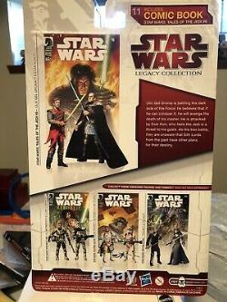 Star Wars Comic Two-Pack Exar Kun & Qel-Droma. 2009 Tales of the Jedi # 6