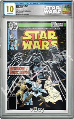 Star Wars Comics Star Wars #21 35g Silver Foil Cgc 10 Gem Mint First Rel
