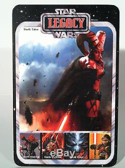 Star Wars Custom Carded Legacy Comics Darth Talon