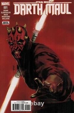 Star Wars DARTH MAUL (5) comic SET #1 2 3 4 5 Marvel 1st print 2017 cad bane