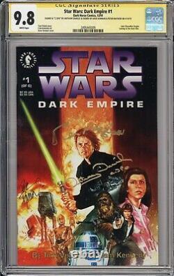 Star Wars Dark Empire #1 CGC 9.8 Signed by Daniels, Mayhew, Dorman