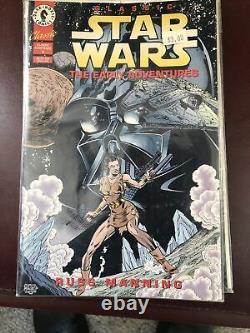 Star Wars Dark Horse Comic Lot- Dark Empire, Heir To The Empire 1 &2, Jedi