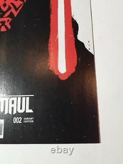 Star Wars Darth Maul #2 David Aja Variant Cover Marvel Comic Book New 1