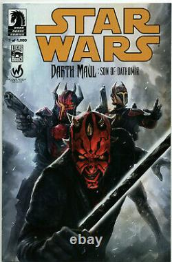 Star Wars Darth Maul Son Of Dathomir #1 Nm Wizard World Color Variant