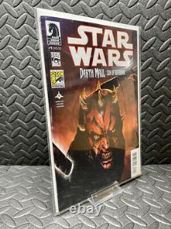 Star Wars Darth Maul Son Of Dathomir #1 SDCC Variant