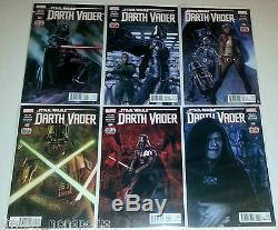 Star Wars Darth Vader #1-25 + Annual + blank Full Run set 1st Doctor Aphra #3 NM