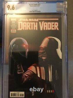 Star Wars Darth Vader #22 CGC 9.6 Momin Appearance Soule Camuncoli Marvel Comics