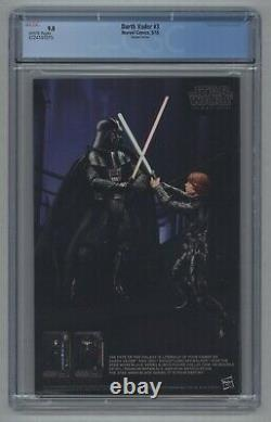 Star Wars Darth Vader #3 125 Larroca Incentive Variant 1st Doctor Aphra CGC 9.0