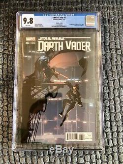 Star Wars Darth Vader 3 125 Larroca Variant CGC 9.8 1st Appearance Doctor Aphra