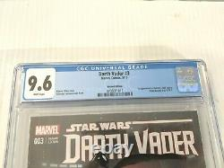 Star Wars Darth Vader #3 1st App DR. APHRA 125 LAROCCA VARIANT HTF CGC 9.6 NM+