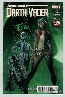 Star Wars Darth Vader 3 1st appearance of APHRA 3rd print Marvel Comics 2015