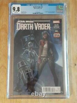 Star Wars Darth Vader #3 CGC 9.8 1st Print 1st app Doctor Aphra, Triple 0, BT-1