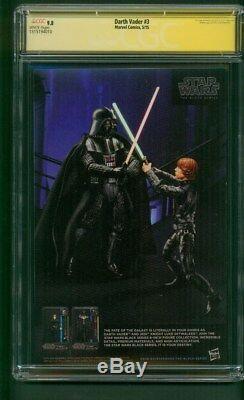 Star Wars Darth Vader 3 CGC 9.8 SS Sal Larroca 1st Doctor Aphra Last Jedi Movie