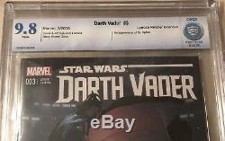 Star Wars Darth Vader #3 Cbcs 9.8 125 Larroca Variant 1st Dr. Aphra Not Cgc 9.8