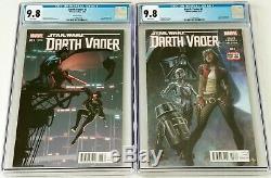 Star Wars Darth Vader 3 Regular & Variant CGC 9.8 1st App. Doctor Aphra