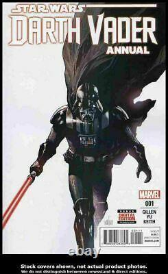 Star Wars Darth Vader Annual #1 Marvel Original Comic Art Pg 11 Roland Boschi