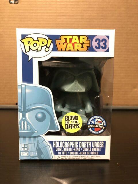 Star Wars Darth Vader Funko Pop Dallas Comic Con Exclusive With Protector Sleeve