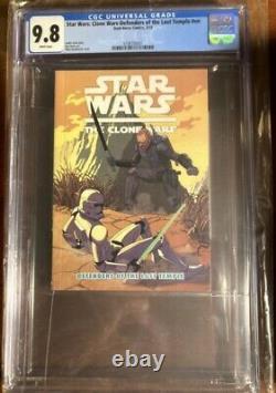 Star Wars Defenders of the Lost Temple CGC 9.8 First Darksaber Bo Katan