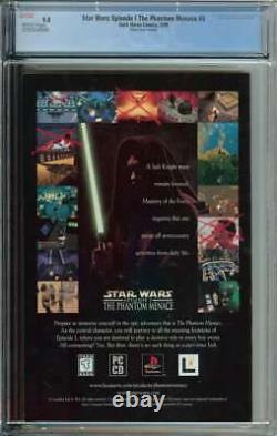 Star Wars Episode I The Phantom Menace #3 CGC 9.8 1st App Darth Maul Photo