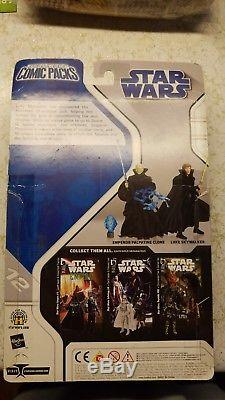 Star Wars Figures 3.75 lot in Comic Pack set Darth Talon, Thrawn, Skywalker