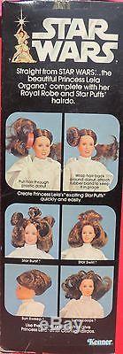 Star Wars. Figurine vintage PRINCESS LEIA ORGANA. Serie 12. KENNER 1978